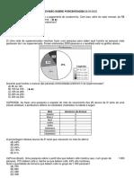 ATIVIDADE DE MATEMÁTICA - porcentagem