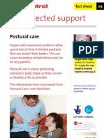 In Control Factsheet 29 Postural Care