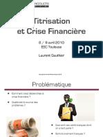 Titrisation et Crise Financiere-email
