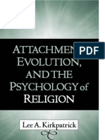 Attachment Religion and Psychology