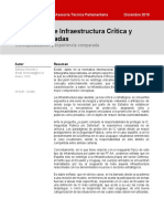 Protección de Infraestructura Crítica y FF.AA.