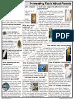 Parrot Fact Sheet