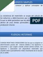 2.- ESFUERZOS NORMALES, CORTE Y APLASTAMIENTO
