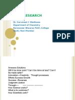 Novel Research