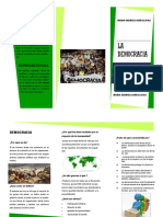 FOLLETO DE LA DEMOCRACIA