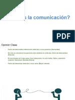 Estrategias de comunicación, clase magistral