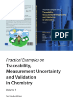 Practical examples traceability,uncertainty and validation in chemistry vol 1