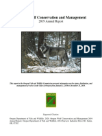 2019 Annual Wolf Report FINAL