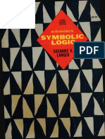 Susanne K. Langer - An Introduction to Symbolic Logic-Dover Publications (1967)