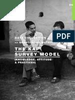 xxxx - The KAP survey model