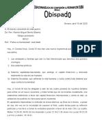 Reflexión 1 del 2020 COVID 19