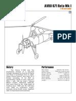 Hélicoptére - Paper Model - Model Kartonowy - Vasyliev Roman (Kampfflieger) - Avro 671 Rota Mk 1.pdf
