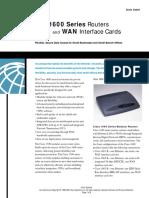 Manual Cisco Router 1600Series
