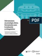 Muniz, A comp., (2018), Intervenciones en psicología clínica. Herramientas para la Evaluación y el diagnóstico. Universidad de la República.