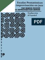Escalas Pentatonicas para la Improvisacion del Jazz - Ramón Ricker.pdf