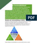 Modelo de Sostenibilidad cemex
