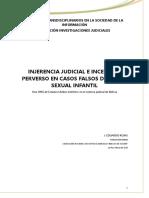 INJERENCIA JUDICIAL E INCENTIVO PERVERSO BOLIVIA