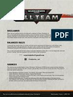 Legion of the Damned kill team v1