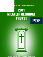 Nilai Leh Beihrual Thupui 2011