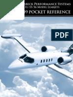 Learjet Addon Kit Pocket Reference 2009