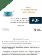 Presentación Tema 3 Los flujos financieros internacionales