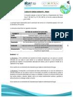 A.M. Acueducto Rural - Chenchito - Prado - Esquemas Diferenciales