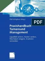 2007 Book Praxishandbuch Turnaround Management