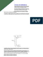 Síntesis de Trenes de Destiladores