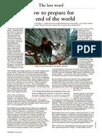 Bunker - The Week (Times) Interview Bradley Garrett