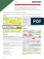Case Report - Hérnia Diafragmática Congénita Simulando Derrame Pleural