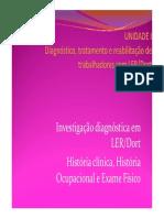 Investigação Diagnóstica 2