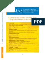 Patrignani, Rafael Alberto (2008) - Dilemas del MERCOSUR y perspectivas para una asociación con Rusia