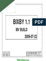 HP Mini 110 Inventec 6050A2262301-MB-A03 BIXBY1.1 MV Rev A Schematics