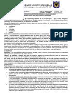 GUIA DE TRABAJO EDUCACIÓN FÍSICA 2020 PROFESOR. 16 al 20 marzo y 24 al 27 marzoCÉSAR BELTRÁN[23742]
