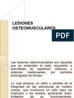 9. Lesiones Osteomusculares