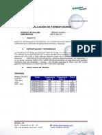Evaluacion General Termofusores