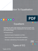 Introduction to Equalisation