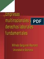 Empresas multinacionales y derechos laborales