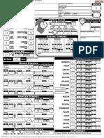 Form-fillable Pathfinder 2e Sheet w Calc