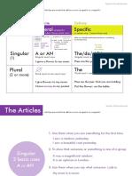 THE ARTICLES by Pamela E.