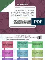 Abdul Rahim Sulaiman case