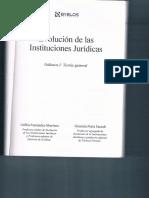 INSTITUCIÓN JURÍDICA. CONCEPTO, ELEMENTOS, EVOLUCIÓN. Orfilia Fernández Graciela Porta. Curso Semipresencial.