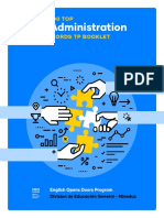 Administration TP Booklet