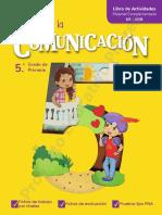 COMUNICACIÓN - resuelto_5TO GRADO - UNIDAD 1