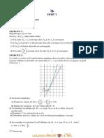 Série d'exercices - Math fonction logarithme, espace - Bac Sciences exp (2010-2011) Mr Abderrazek Berrezig