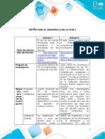 Matriz para el desarrollo de la fase 3. sussy tatiana suarez