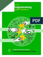 Programming TP Booklet