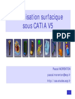 Modélisation surfacique sous CATIA V5 Pascal MORENTON.pdf