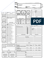 Neila - D&D 5th edition Character Record Sheet