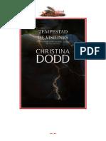 Dodd, Christina - Los Elegidos 01 - Tempestad de visiones